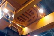 Разработана ,произведена и смонтирована Система управления мостовым краном с поворотной тележкой г/п 12.5+12.5 т. С применением ЧП АВВ. В Систему управления так же входили :Кабина крановщика в комплекте с Креслом крановщика КПО-5 .Тормозные резисторы БСК.